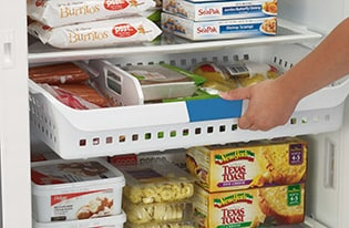 16.6 Cu. Ft. 2-in-1 Upright Freezer or Refrigerator