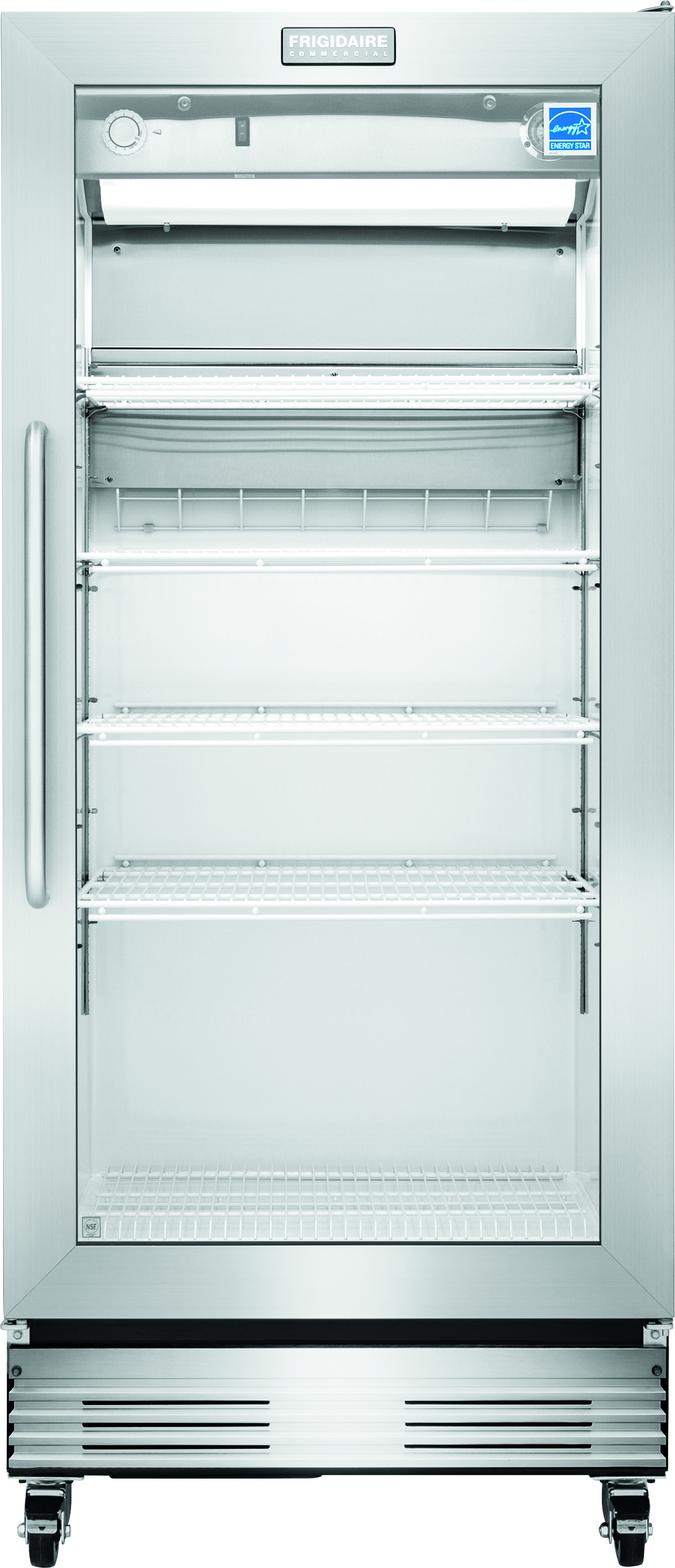 18.4 Cu. Ft., Glass Door Merchandiser