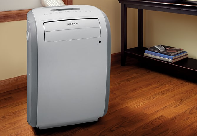 Model: FRA073PU1 | Frigidaire 7,000 BTU Portable Room Air Conditioner