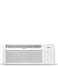 PTAC unit with Heat Pump and Electric Heat backup 9,000 BTU 265V with Corrosion Guard and Dry Mode