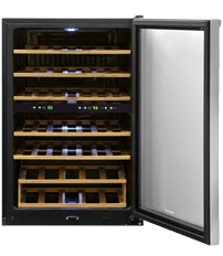 38 Bottle Two-Zone Wine Cooler