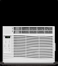 6,000 BTU Window-Mounted Room Air Conditioner