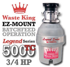 Legend 5000TC Legend Series Garbage Disposer