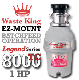 Legend 8000TC Legend Series Garbage Disposer