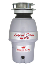 Waste King Garbage Disposer - 9930   1/2 HP Legend Series Disposal