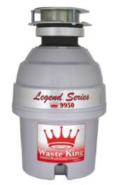 Waste King Garbage Disposer - 9950  1/2 HP Legend Series Disposal