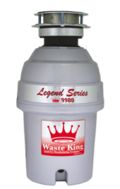 Waste King Garbage Disposer - 9980 1 HP Legend Series Disposal