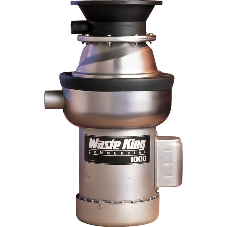 Model: 1000-1 | Waste King Commercial Garbage Disposal 1000-1 - 1 hp Single Phase