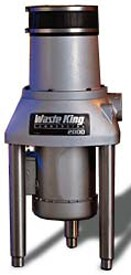 Waste King Commercial Garbage Disposal 2000-1, 2 HP Single Phase