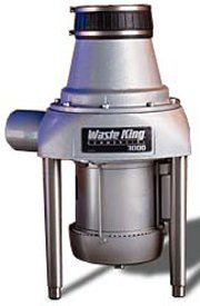 Waste King Commercial Garbage Disposal 3000-3, 3 HP Three Phase