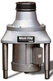 Waste King Waste King Commercial Garbage Disposal 5000-3, 5 HP Three Phase