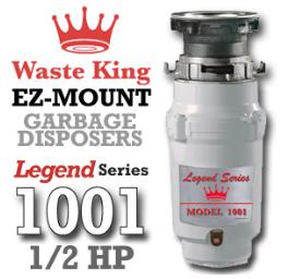 Legend 1001 Legend Series Garbage Disposer