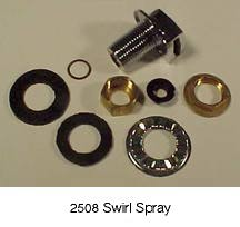 Waste King Swirl Spray for Cone Assembly  2508