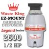 Legend 2600 Legend Series Garbage Disposer
