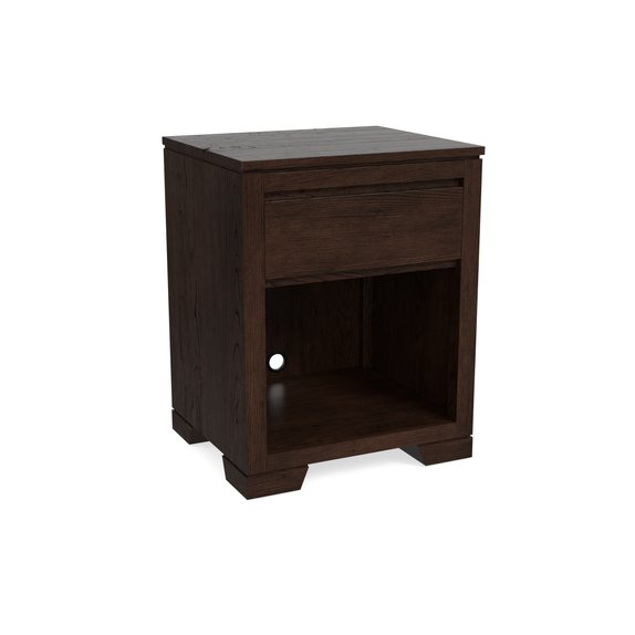 Bassett Bench*Made Oak Bedside Table