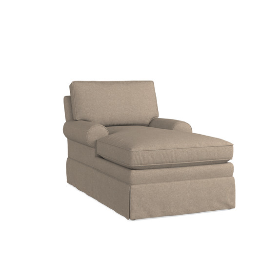Allister Grande Two Arm Chaise