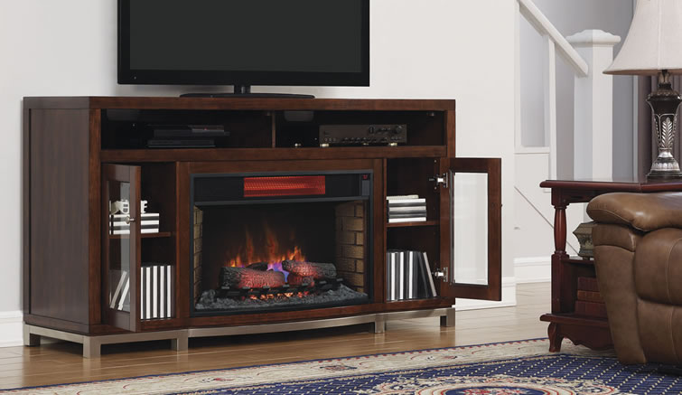 Bell'O WESLEYAN TV STAND