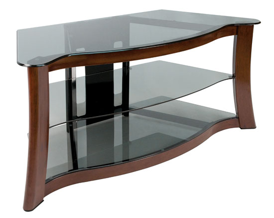 Model: PVS3103 | Bell'O Audio/Video Furniture With Hand-painted Dark Cherry Finish