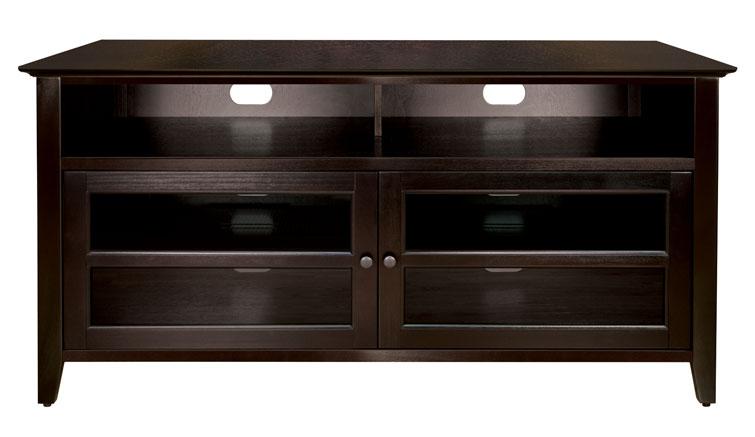 Dark Espresso Finish Wood A/V Cabinet