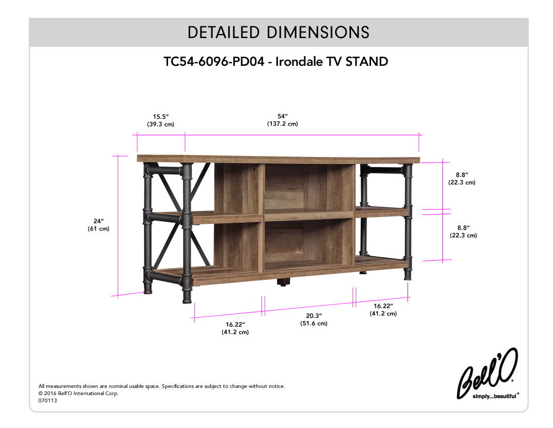 IRONDALE TV Stand
