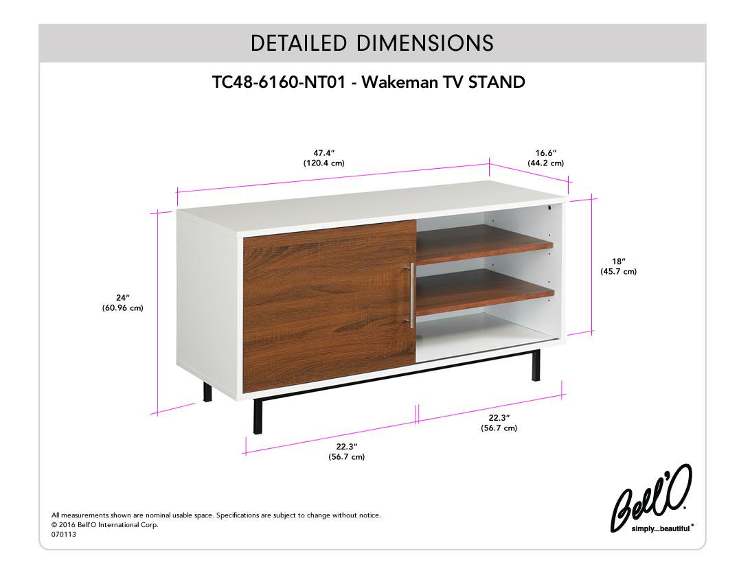 WAKEMAN TV Stand