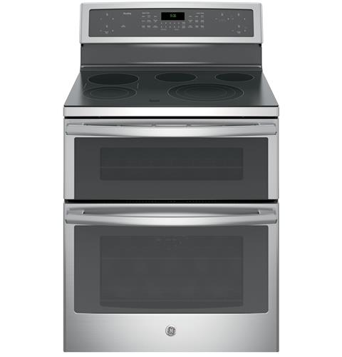 "GE Profile GE Profile Series 30"" Free-Standing Electric Double Oven Convection Range"