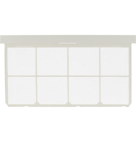 Room Air Conditioner Accessory - Replacement Filter for Rounded Front