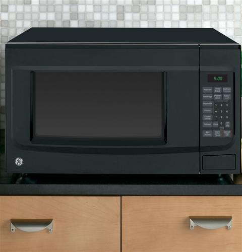 1.4 cu. ft. 1100-Watt Countertop Microwave in Black