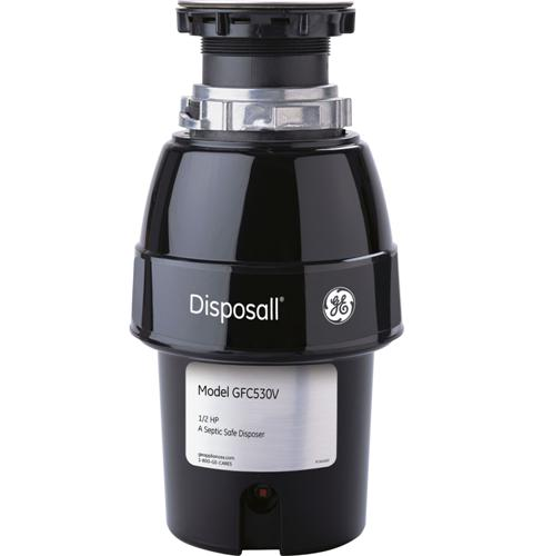 Model: GFC530V | GE 1/2 HP Continuous Feed Garbage Disposer Non-Corded