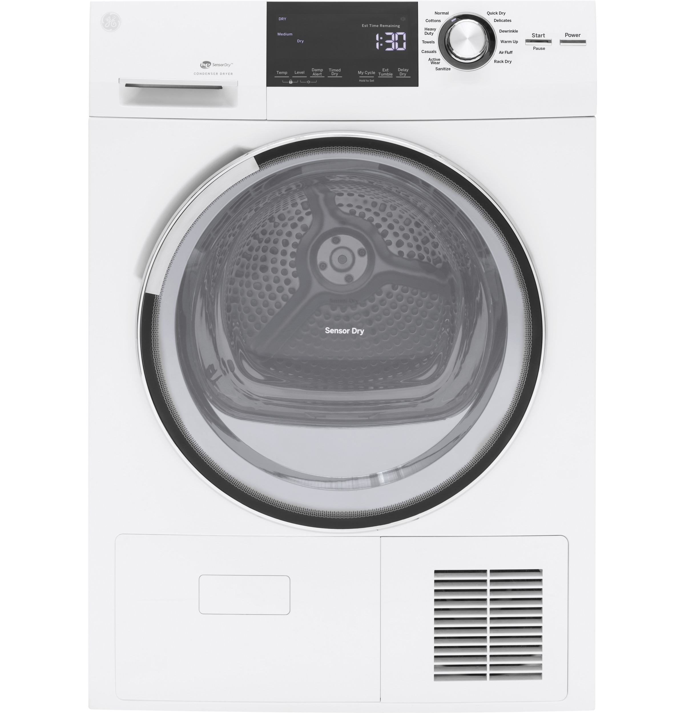 GE®  4.0 Cu.Ft. Stainless Steel Capacity 24