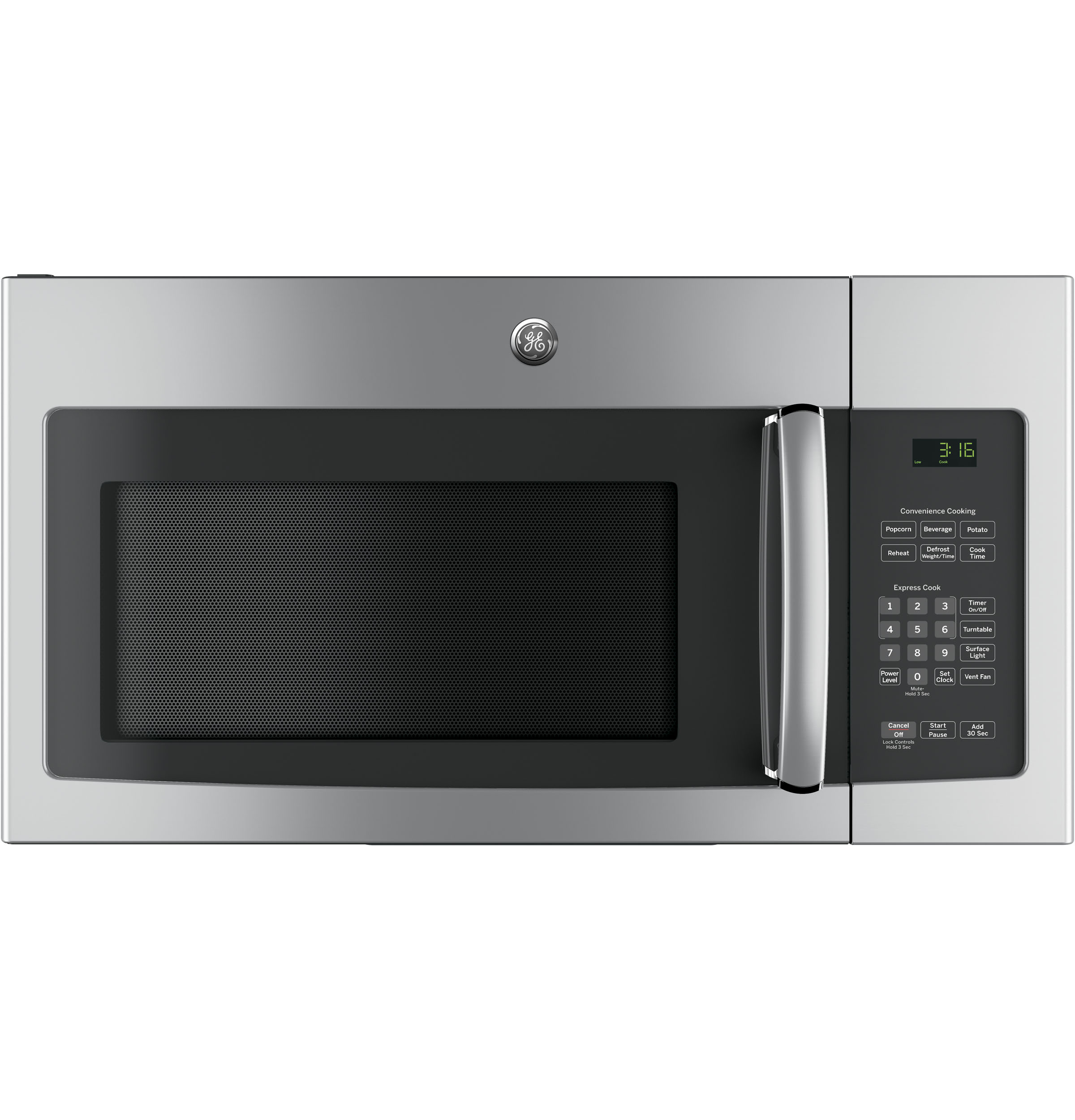 GE GE 1.6 Cu. Ft. Over-the-Range Microwave Oven