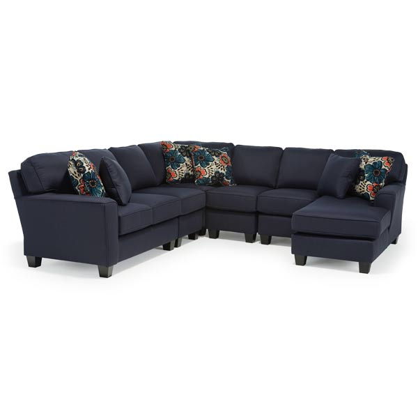 Best Home Furnishings ANNABEL SECT1 STATIONARY SOFA