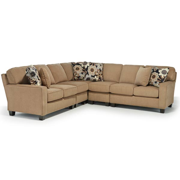 Best Home Furnishings ANNABEL SECT2 STATIONARY SOFA