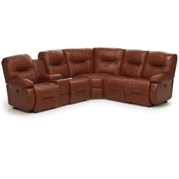 Best Home Furnishings BRINLEY SECT. RECLINING SOFA