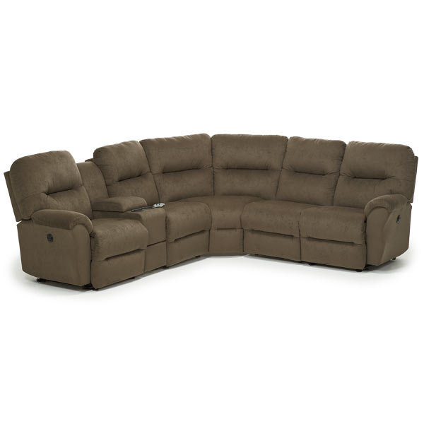 Best Home Furnishings BODIE SECT. RECLINING SOFA