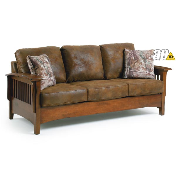 Best Home Furnishings Westney Sofa Cabin Trails Distressed