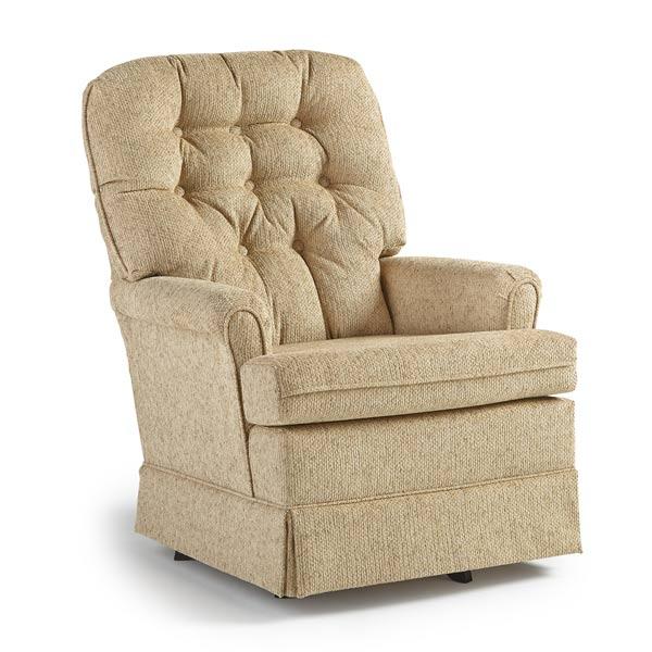 Miraculous Best Home Furnishings Joplin1 Swivel Glide Chair Joplin1 Squirreltailoven Fun Painted Chair Ideas Images Squirreltailovenorg