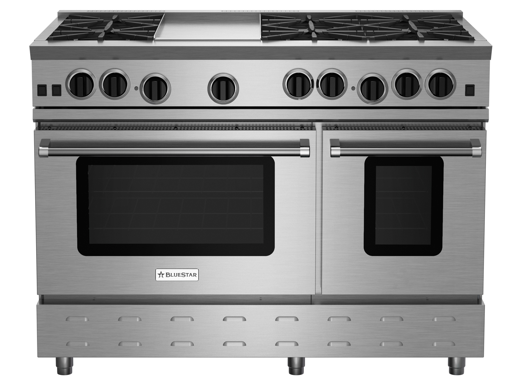 "BlueStar 48"" RNB SERIES RANGE WITH 12"" GRIDDLE"