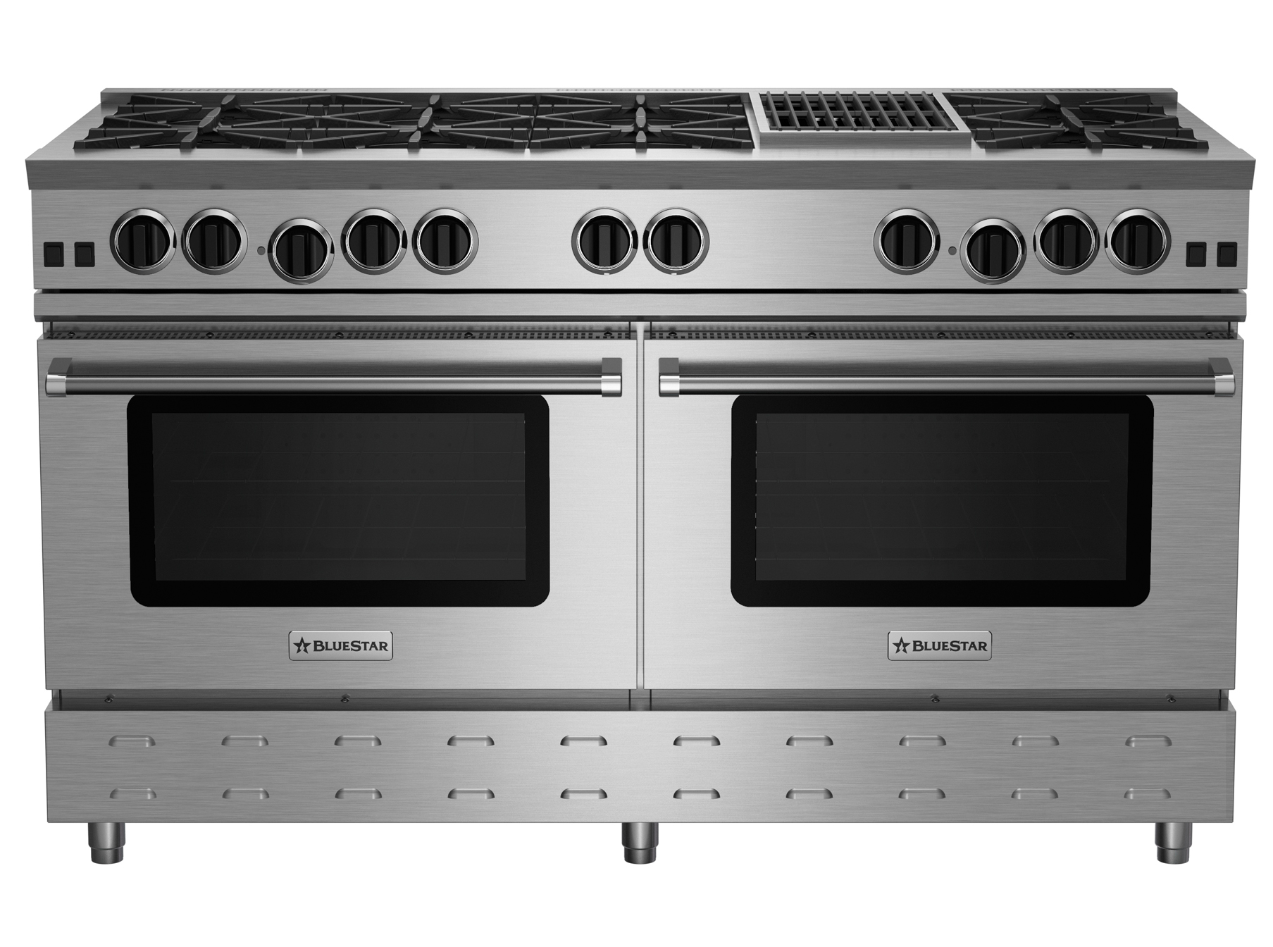 "BlueStar 60"" RNB SERIES RANGE WITH 12"" CHARBROILER"