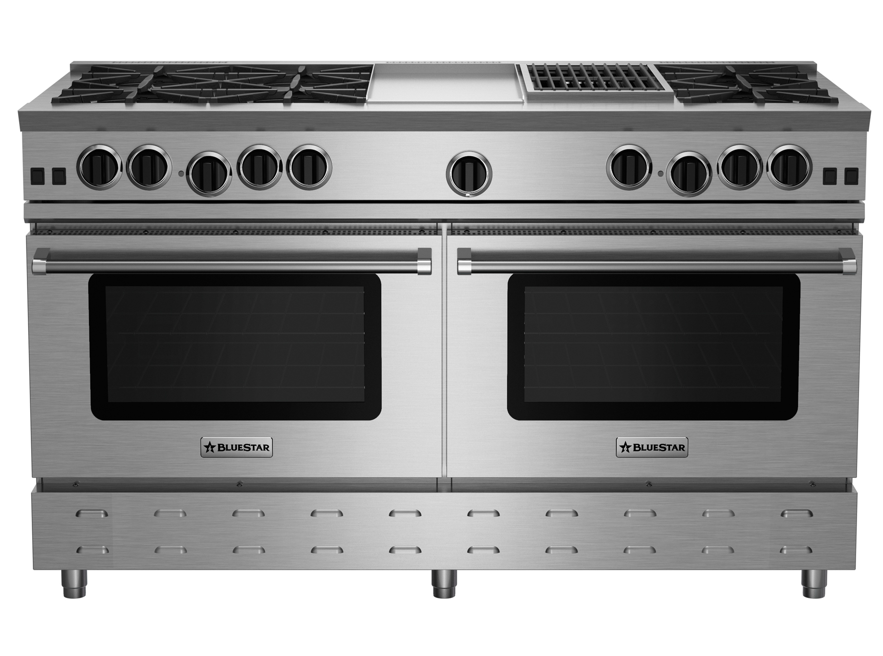 "BlueStar 60"" RNB SERIES RANGE WITH 12"" GRIDDLE & CHARBROILER"
