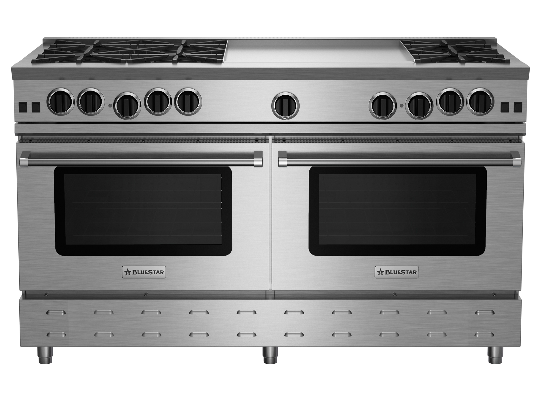 "BlueStar 60"" RNB SERIES RANGE WITH 24"" Griddle"