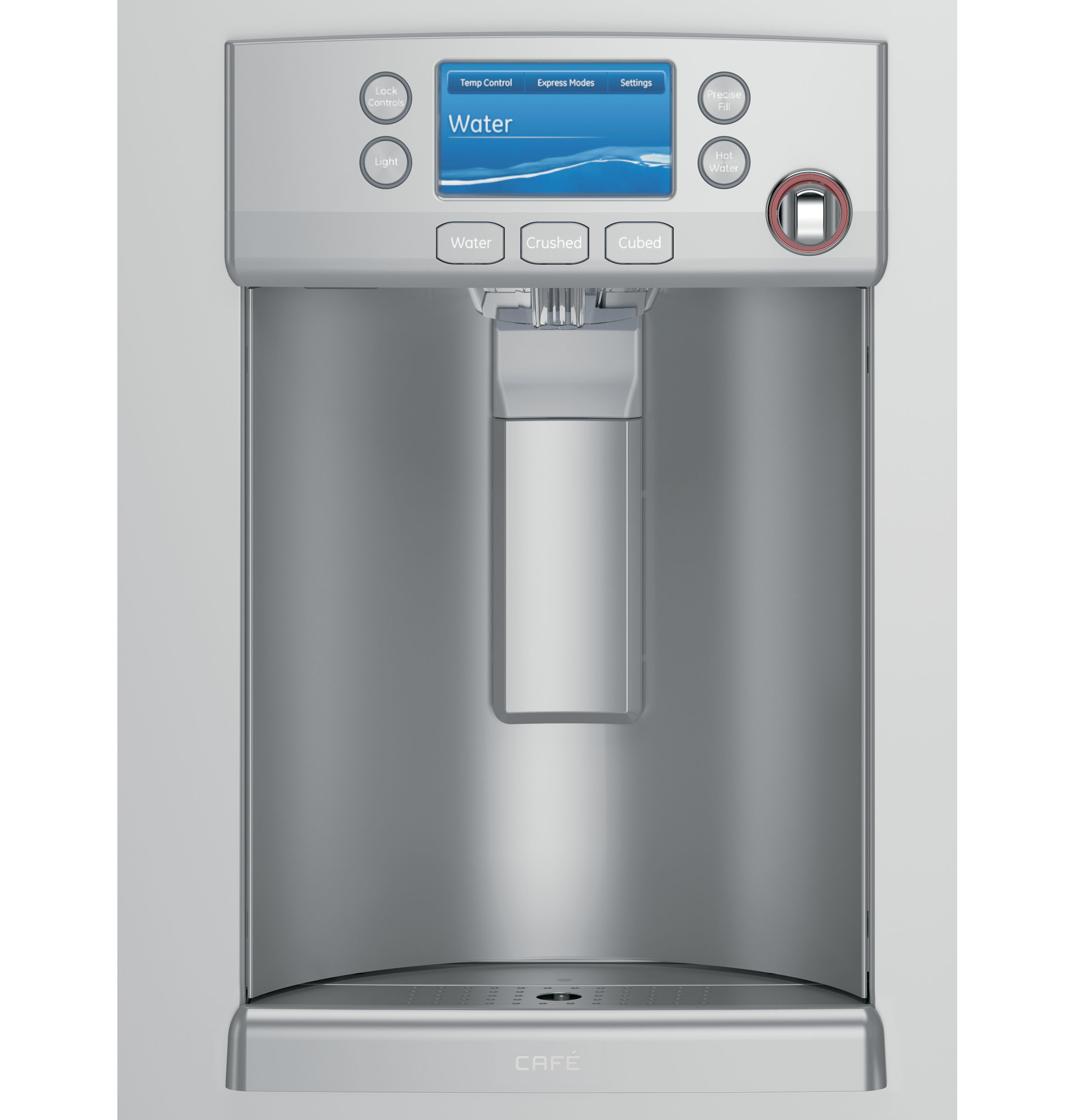 GE Café™ Series ENERGY STAR® 27.8 Cu. Ft. French-Door Refrigerator with Hot Water Dispenser
