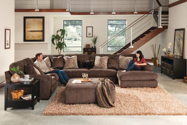 Serena-Sectional LSF Loveseat
