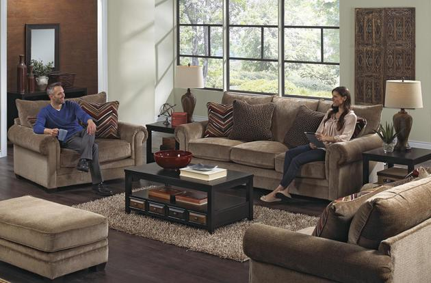 Model: Anniston Sofa-434203 | Catnapper Anniston Sofa