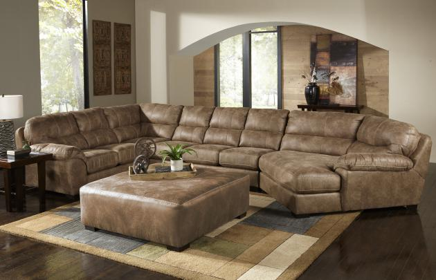 Grant-Sectional Armless Chair