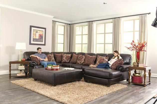 Southport-Sectional Armless Loveseat