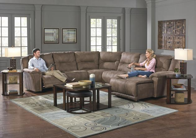 Montgomery Power Lay Flat RSF Recliner