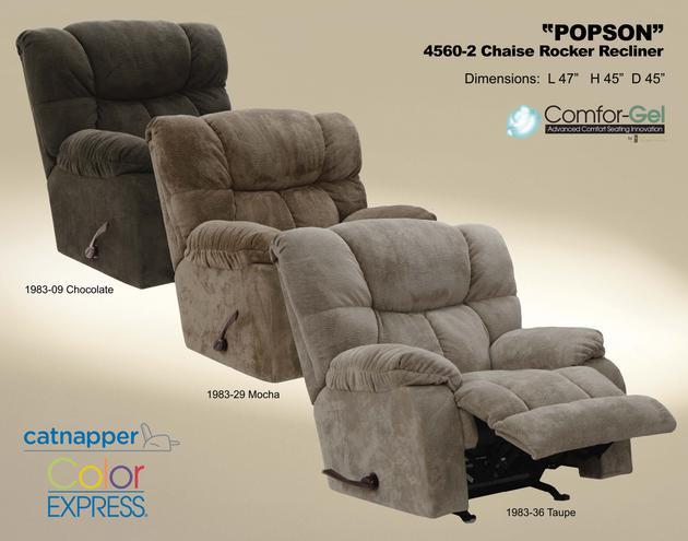Popson Chaise Rocker Recliner