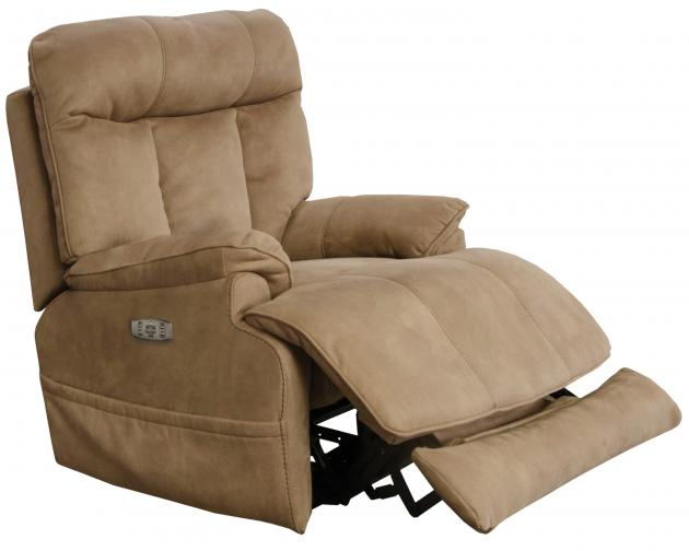 Model: Amos Power Headrest w/Lumbar Power Recliner w/ Extended Ottoman-7645627 | Amos Power Headrest w/Lumbar Power Recliner w/ Extended Ottoman
