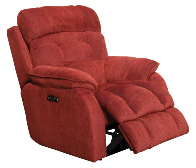 Crowley Power Headrest Lay Flat Recliner